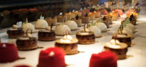 Yauatcha Desserts fit for a Royal